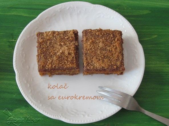 kolač sa eurokremom