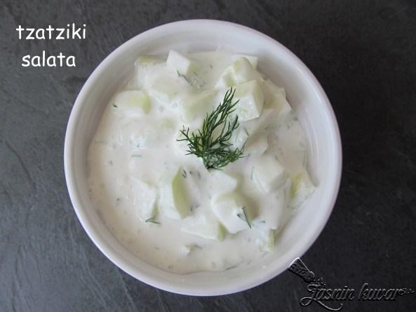 Tzatziki salata
